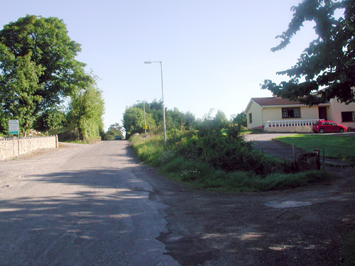ennis site before Development